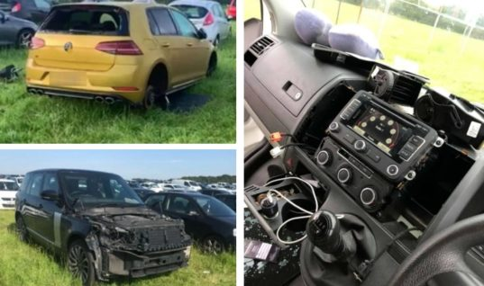 Creamfields car park targeted by car cannibals