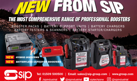 SIP introduces new battery booster range