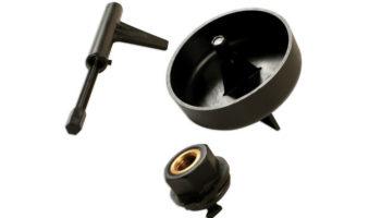 Specialist Mercedes-Benz transmission oil adaptor set from Laser Tools
