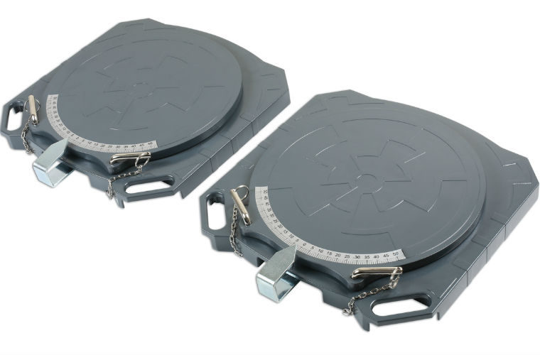 New lightweight aluminium steering turntables from Gunson Tools