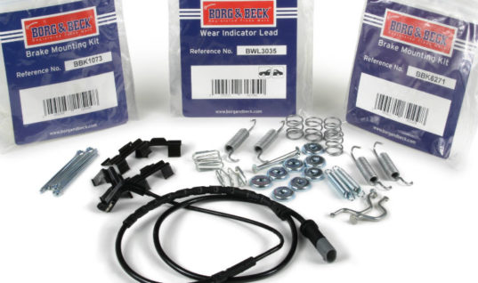Everything you need with Borg & Beck brake fitting kits
