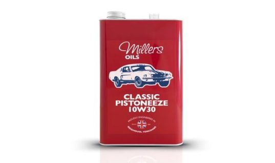 Millers Oils launches range of engine oils for modern classics