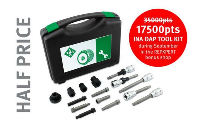 50% off INA OAP tool kit in REPXPERT shop this month only