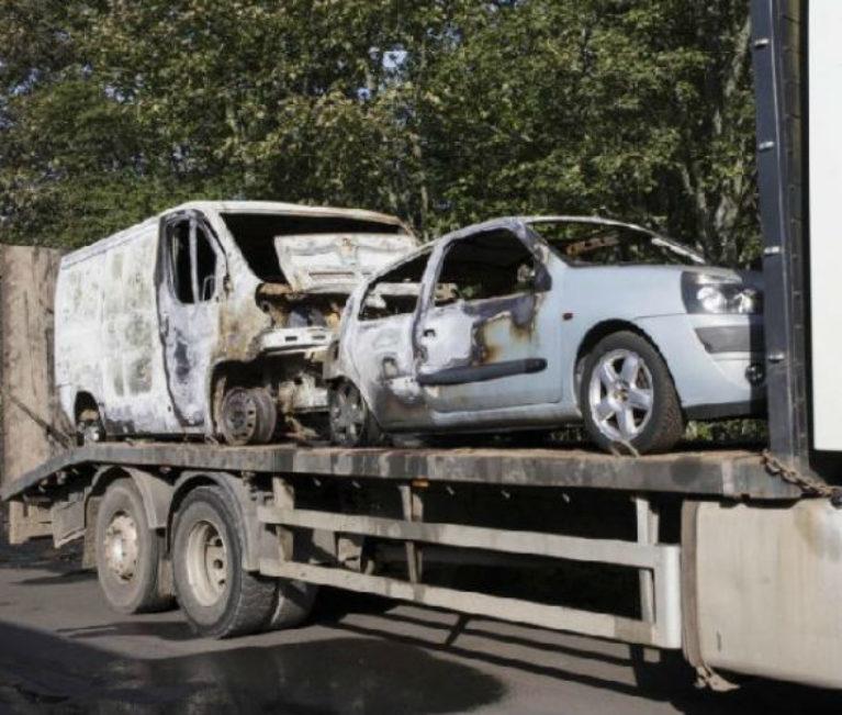 Garage owner vows to carry on despite arson attack