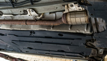 Huge rise in catalytic converter thefts, police say