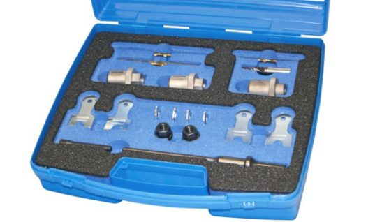 Sykes-Pickavant releases multi-link suspension bolt drilling kit