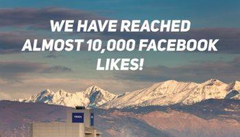 TEXA UK heads towards 10,000 Facebook likes