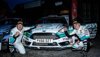 Yuasa-supported Edwards gets back-to-back British Rally Championship titles