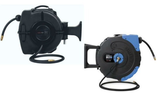 Retractable air/water hose reels from Prosol