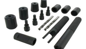 "Video: Sykes-Pickavant locking lug nut remover kit suitable for ""all locking lug nuts"""