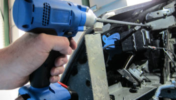 Cordless drill power extension bars from Laser Tools
