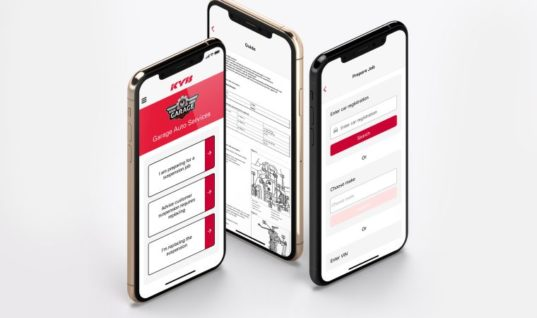 New features for KYB suspension solutions app