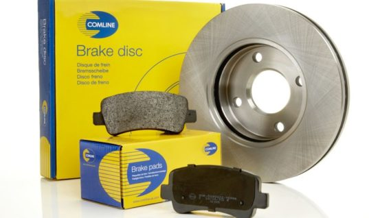 Comline adds to range of R90-approved brake pads and coated discs