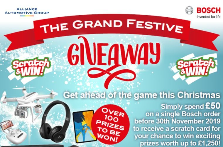 Bosch launches 'grand festive giveaway'