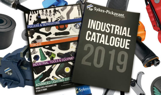Latest Sykes-Pickavant catalogue showcases range of solutions for industrial sector