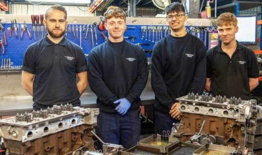 Ivor Searle invests in new apprentices