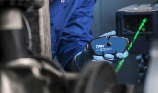 Electric and hybrid TRW brake pads win innovation prize