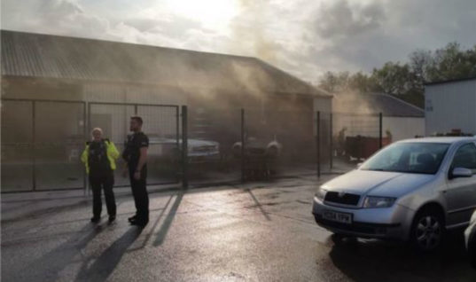 Showroom staff save £11m worth of luxury cars from blaze