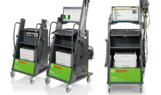 Bosch analyser meets aftermarket demand for 48v testing