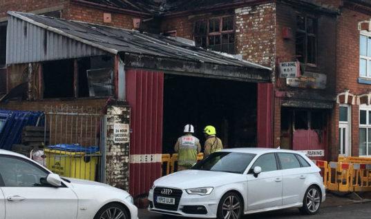 Garage owner forced into retirement following workshop blaze