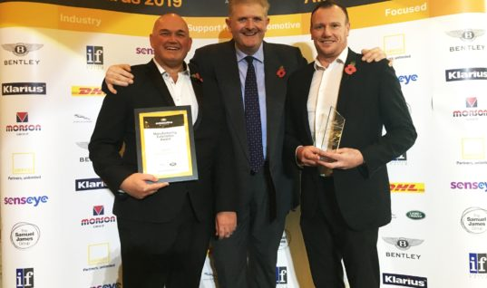 Klarius wins prestigious manufacturing excellence award