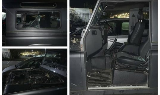 Owner of stripped Defender finds bonnet on Facebook sellers