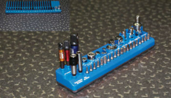 Magnetic tool and bit organisers from Laser Tools
