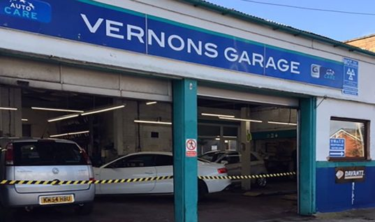 "Management software makes business ""so much easier"", reports Vernons Garage"