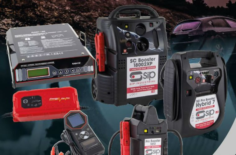 SIP extends battery booster, starter and charger offering
