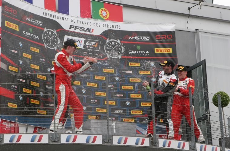 Double victory and GTC Championship crown for TRICO in Portugal