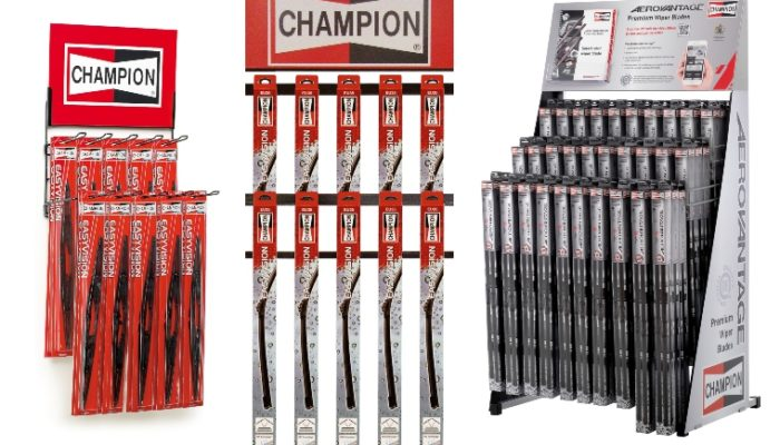 EAG and TRICO agree Champion wiper blade distribution deal
