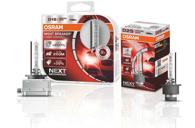 OSRAM Night Breaker Laser bulbs get Auto Express award