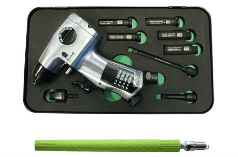 Vibro-impact glow plug remover set from Sykes-Pickavant