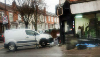 Tyre fitting business under investigation after setting up in former corner shop