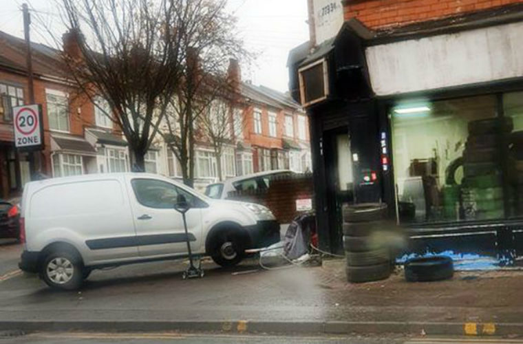 Tyre fitting business under investigation after setting up in former corner shop