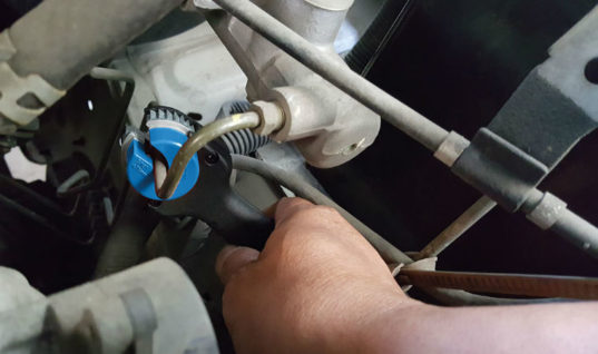 New mini brake pipe cutter from Laser Tools
