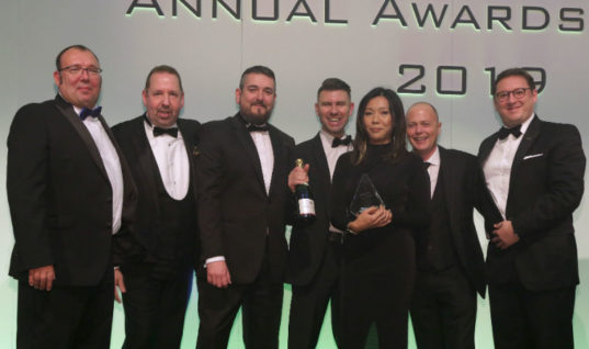 MAHLE regains IAAF Supplier of the Year Award