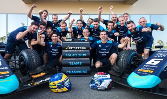 DAMS F2 team secures 13th championship with support from Lucas Oil