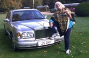 Trader tries selling private plate without admitting it belonged to Jimmy Savile