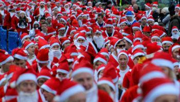 Yuasa powers 3,000 Santas for charity fun run