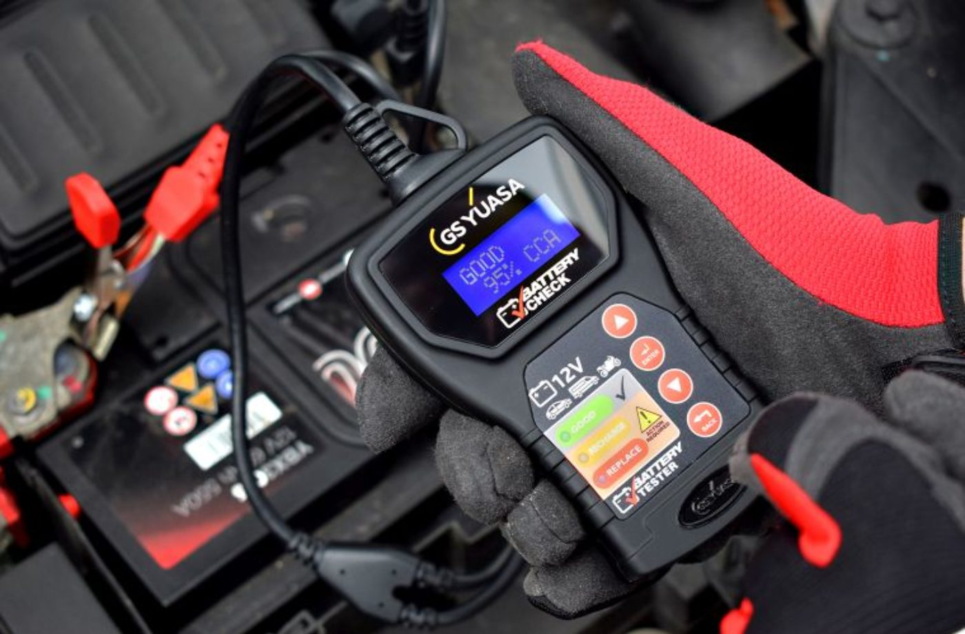 Yuasa issues cold weather battery warning
