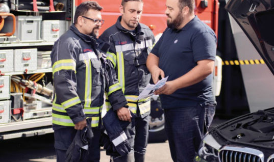 Electric vehicle training for emergency services to reduce risks of new hazards