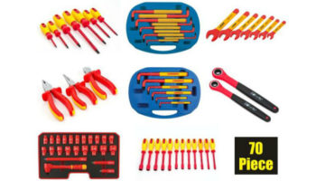 Save on this 70-piece insulated tool kit at Prosol