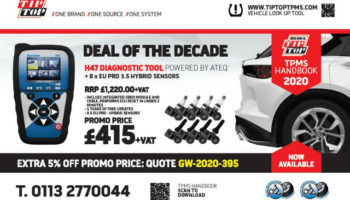 """TPMS diagnostic tool """"deal of the decade"""" from REMA TIP TOP"""