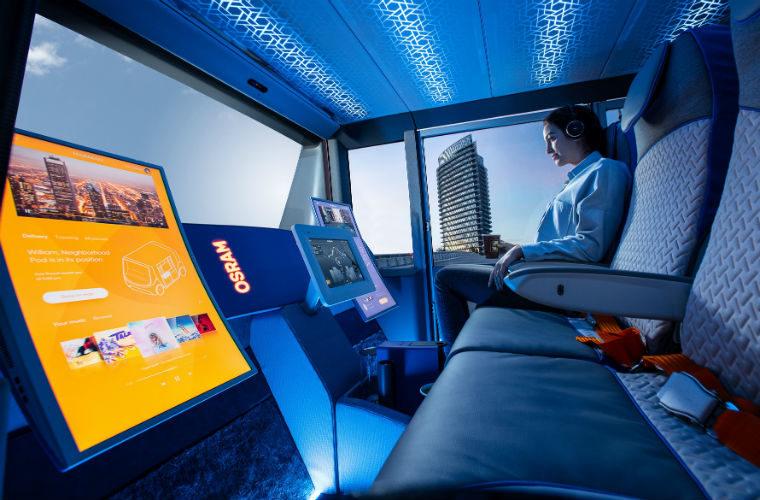 Osram demonstrates future lighting tech on latest Rinspeed concept