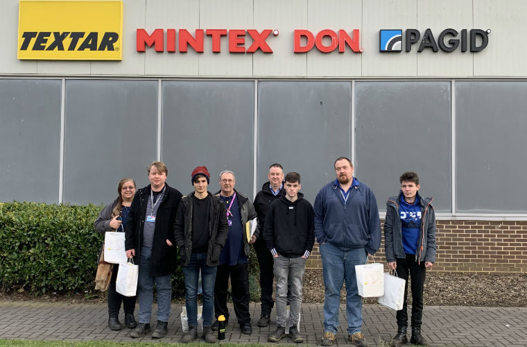 Next generation mechanical engineers inspired by TMD Friction tour