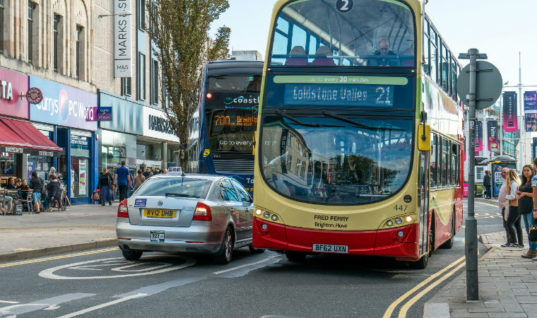Brighton is latest to propose banning private cars from city