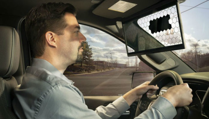New Bosch 'virtual visor' is first sun visor innovation in 95 years