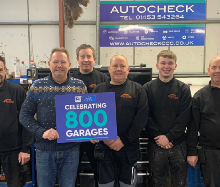 AutoCare network reaches 800 garages