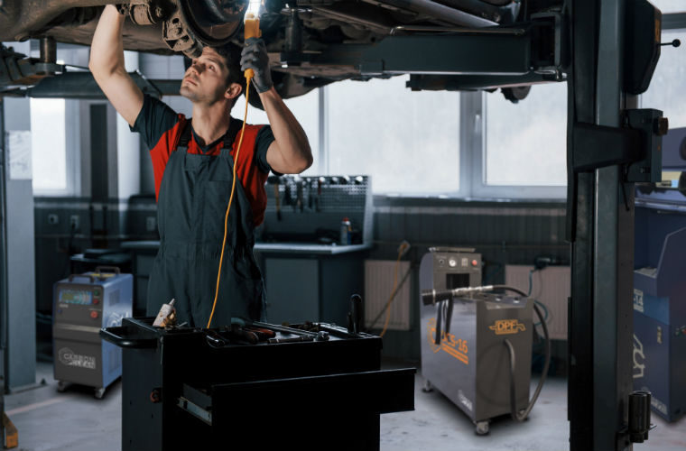 Carbon Clean professional DPF cleaning machines